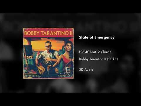 Logic - State Of Emergency Feat. 2 Chainz (3D AUDIO)