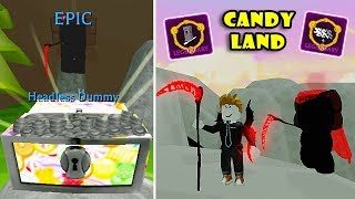NEW CANDYLAND UPDATE! NEW STAFFS + LEGENDARY SPELLS + PETS In WIZARD SIMULATOR! [Roblox]
