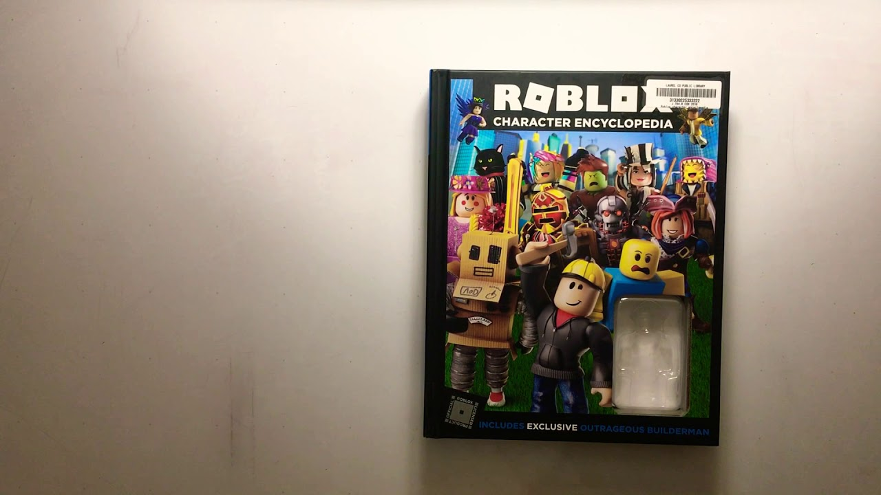 Roblox Character Encyclopedia Book Youtube