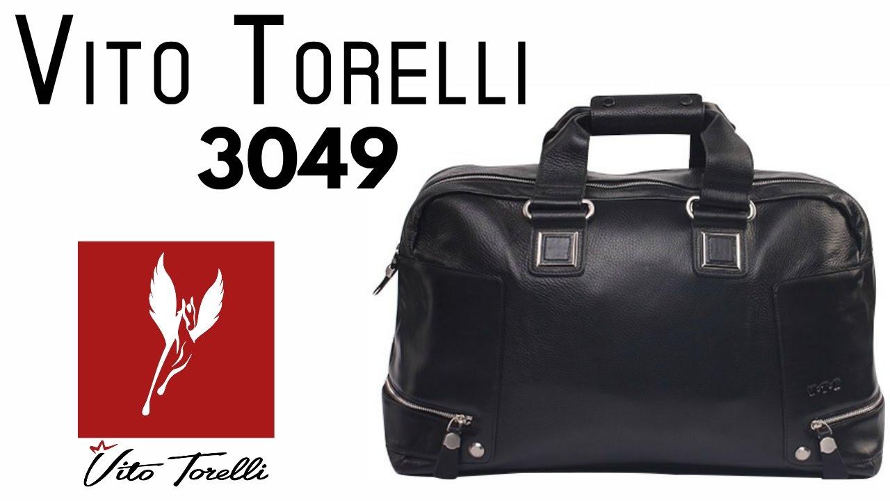 2f93a3f7855a Дорожная сумка Vito Torelli 3049 - YouTube