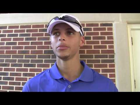 Stephen Curry discusses the 2010 NBA draft