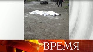 В Кизляре вооруженный человек обстрелял людей на улице, есть убитые.