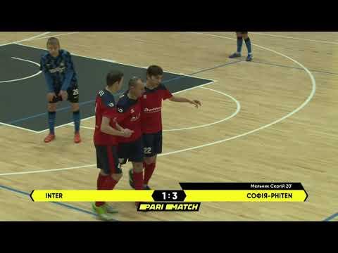 Огляд матчу | INTER 4 : 3 Софія-Phiten