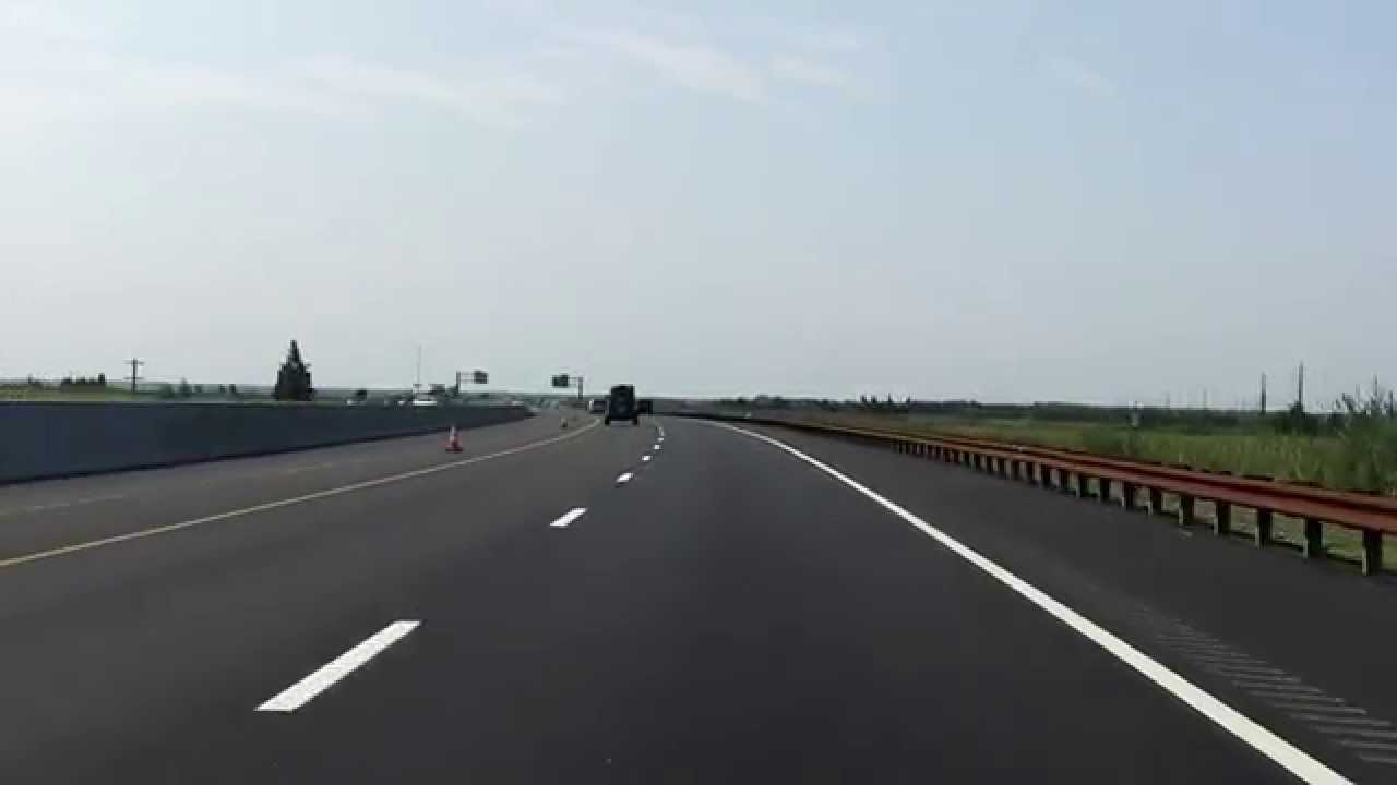 Garden State Parkway (Exits 58 to 48) southbound [2014 Construction Update]