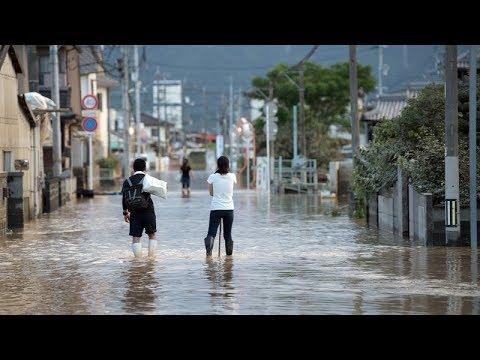 141 Killed after Torrential Rain and Landslides in Japan