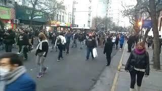 Marcha en reclamo de justicia por la muerte de Blas Correas