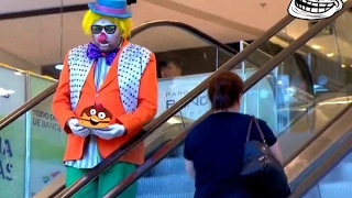 Забавный розыгрыш с клоуном в Бразилии ⁄ Пранк