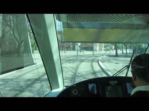 Riding the Barcelona Trams and Metro - Spain