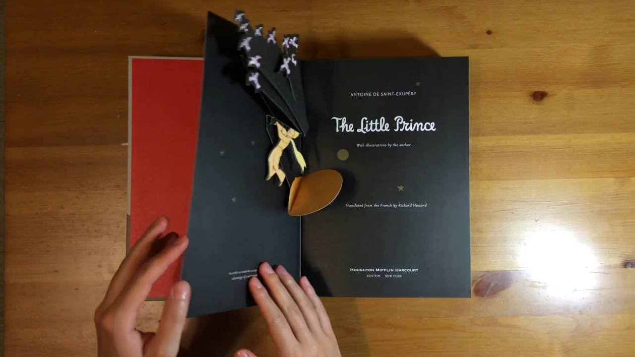 Little Prince New York the little prince - deluxe pop-up book