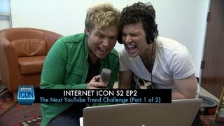 internet icon s2 ep2 the next youtube trend challenge part 1 of 2