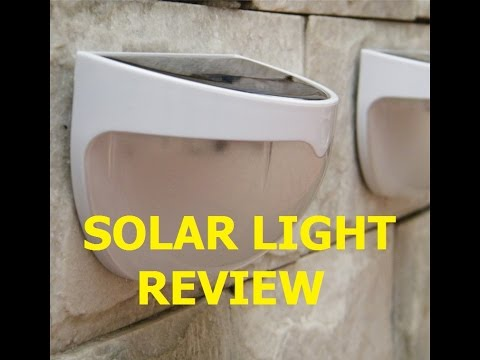 1.5V Solar light Review(Voltage and Current testing)