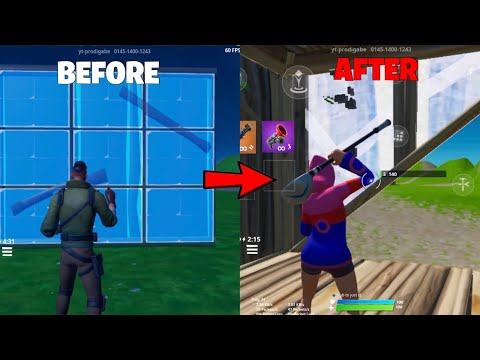 How To IMPROVE And MASTER Your Editing Speed In Fortnite Mobile   Double Edit & Reset Binds Tutorial