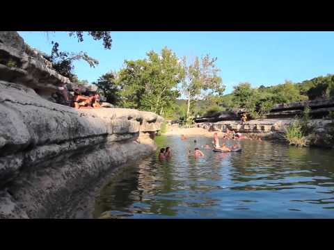 Austin Water Hole Cliff Jumps
