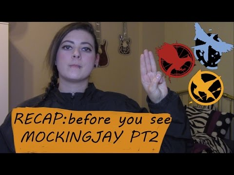 THE HUNGER GAMES RECAP / BEFORE WATCHING MOCKINGJAY PART 2