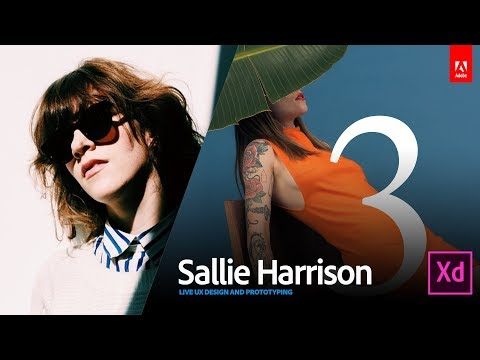 Live UX Design with art director Sallie Harrison 3/3