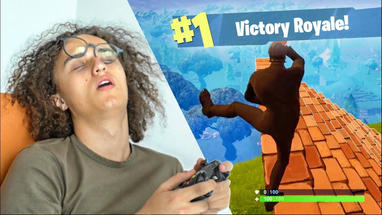 PLAYING FORTNITE FOR 24 HOURS! *World Record* - YouTube