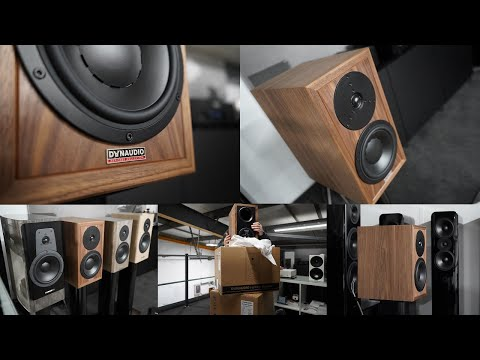 Dynaudio Heritage Special demonstration UK with Dynaudio Special Forty comparison