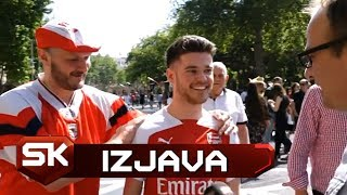 Razgovaramo sa Navijačima Čelsija i Arsenala Pred Finale Lige Evrope   SPORT KLUB FUDBAL