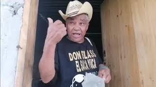 Don Blas listo para ir de viaje a Conocer los suegros de su sobrino el Raspachin en olancho