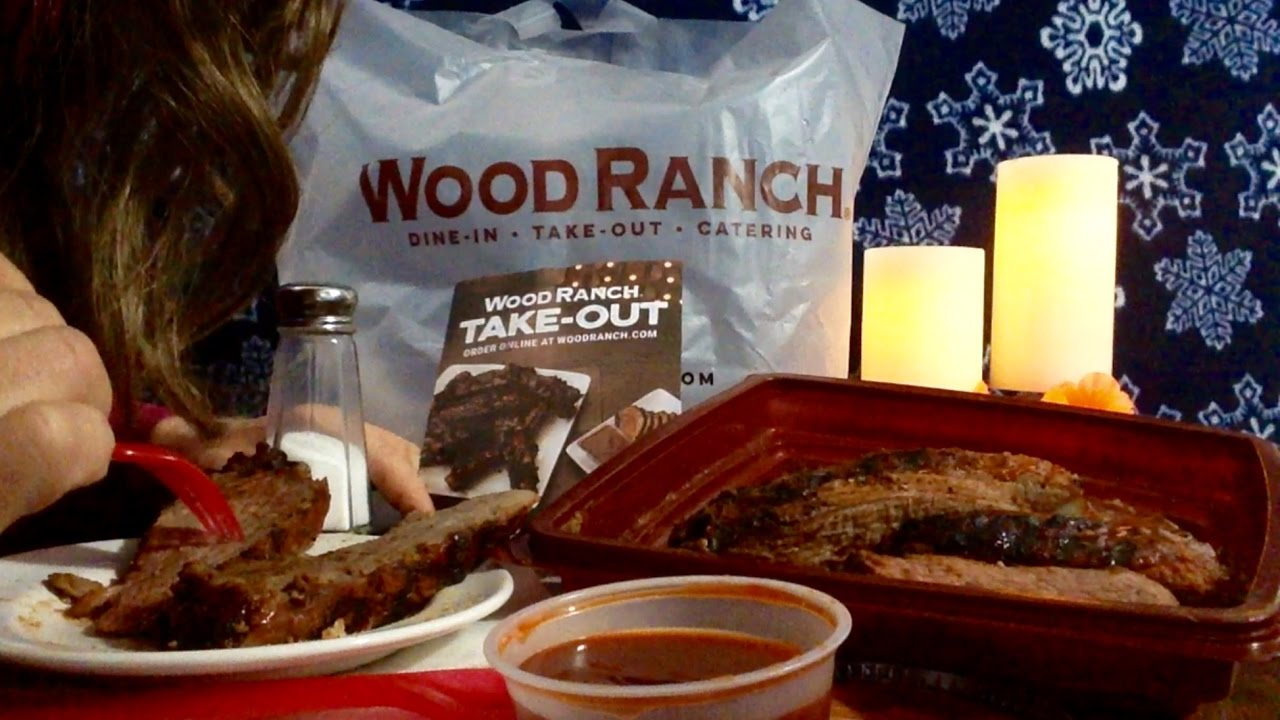 Wood Ranch BBQ TriTip Review, Info, ASMR Rambling About Their Menu - Wood Ranch Catering WB Designs