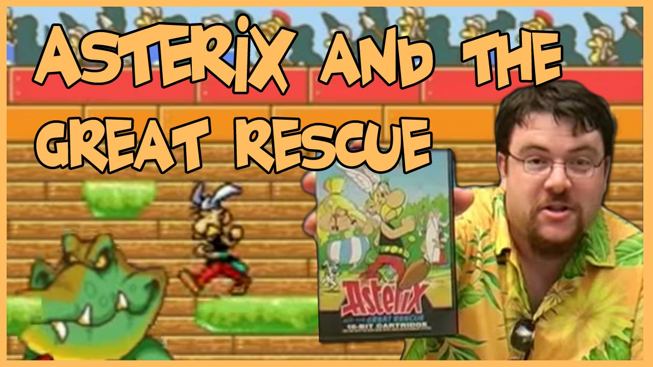 Asterix And The Great Rescue - Title Theme - YouTube