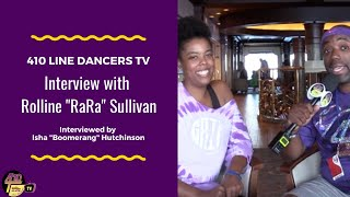"Ep 46: Interview with DJ Rolline ""RaRa"" Sullivan of G.R.I.T. Line Dancers in Jacksonville, FL"