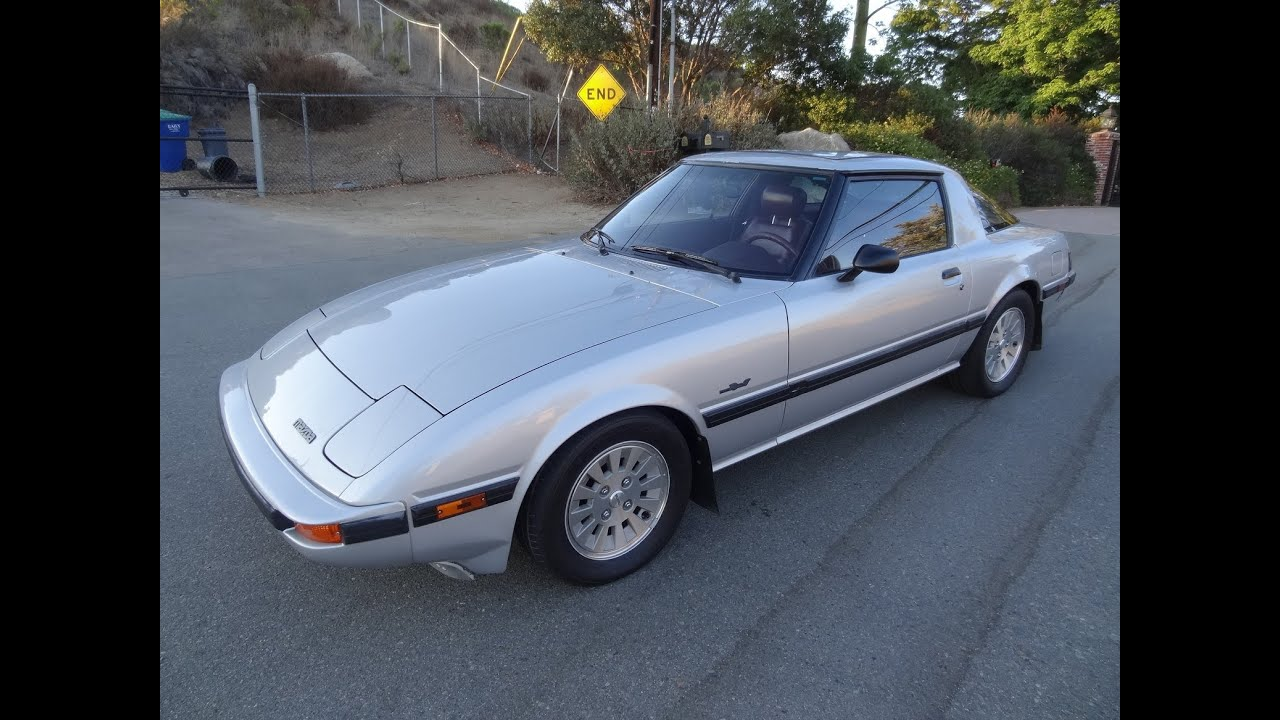 1984 Mazda Rx7 RX7 GSLSE 13B 5Spd Manual 1 Owner Rotary