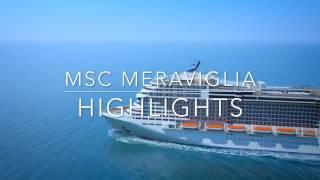Новый лайнер MSC Meraviglia. Круизы с клубом InCruises!