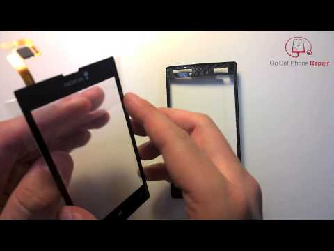 Nokia Lumia 520 Lens-Digitizer Replacement