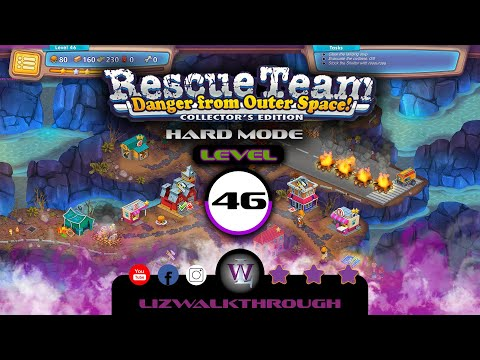 Rescue Team 10 CE - Level 46 Walkthrough - Danger from Outer Space! |
