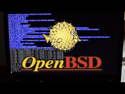 Booting OpenBSD 6.2 on ThinkPad T520