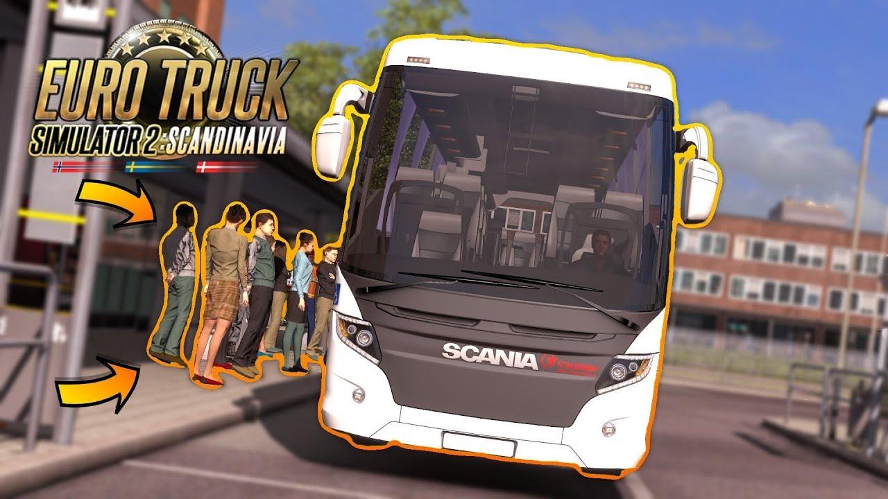 Bus Terminal Mod   Euro Truck Simulator 2 1 35