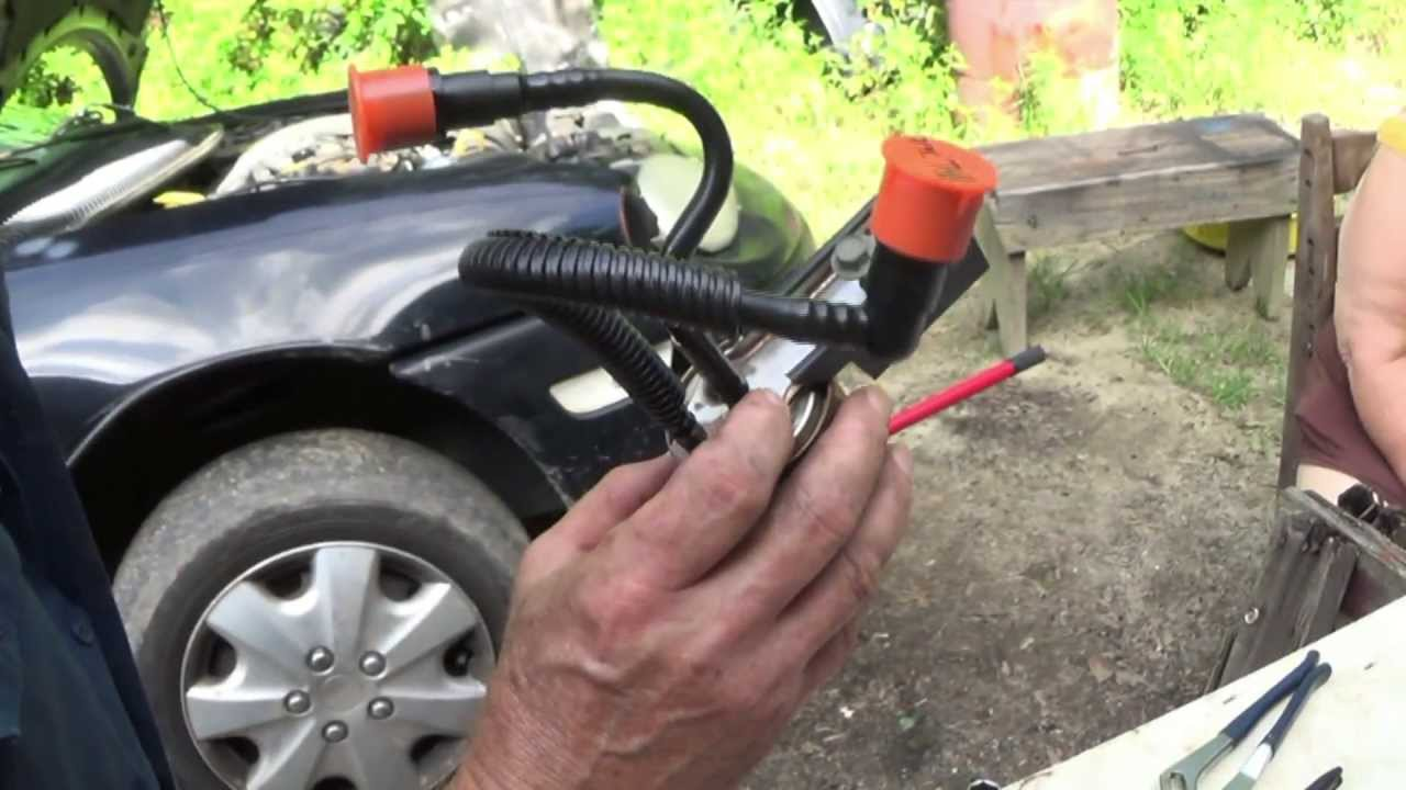 Replace a Fuel Filter on a 1997 Neon Plymouth - YouTube