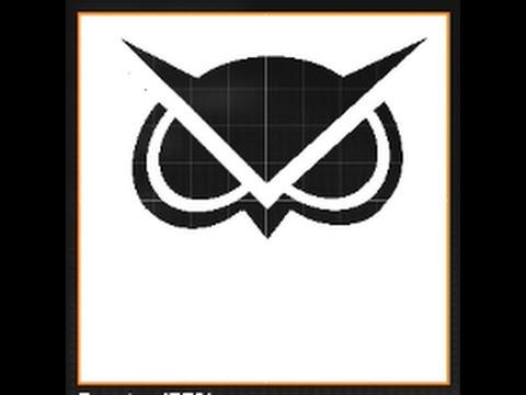 Black Ops 2 - New Vanoss Logo Emblem (Hollow)