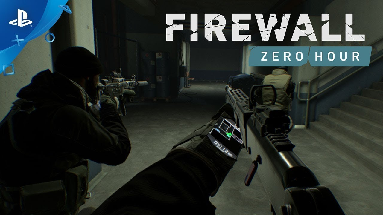 Firewall Zero Hour Gameplay Trailer Ps Vr Youtube