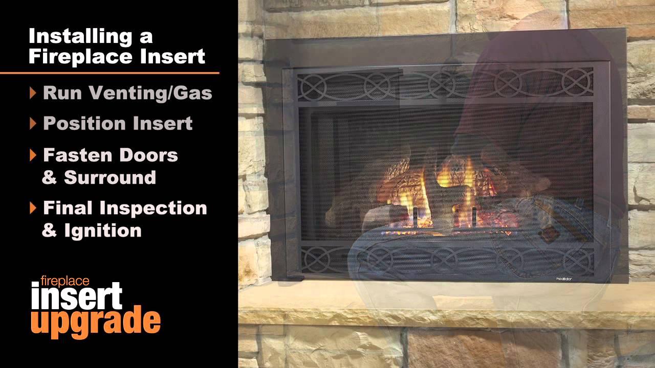 hight resolution of heatilator gas fireplace insert installation you