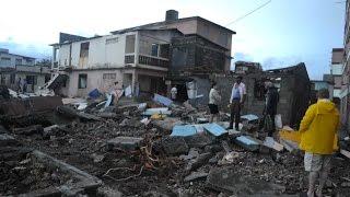 Baracoa, devastada tras el paso del huracán Matthew