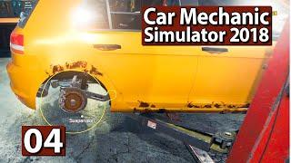 Auto Werkstatt Simulator 2018 | Reifenabzieher FIX ► #4 CAR MECHANIC Gameplay deutsch