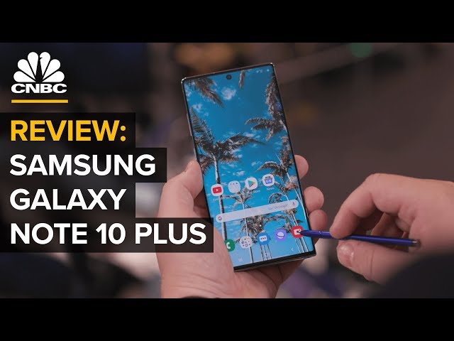 Can Samsung's Galaxy Note 10+ Shoot Pro-Quality Video?