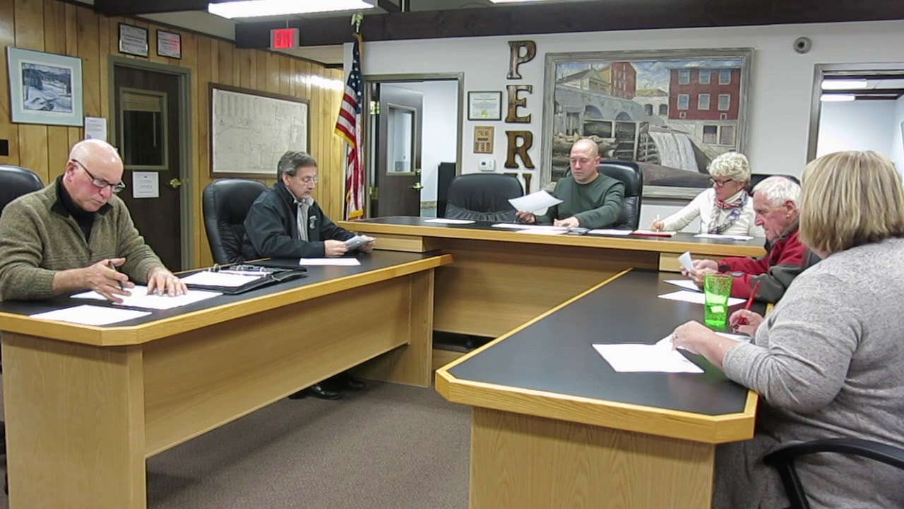 Peru Town Board Special Meeting  11-5-18