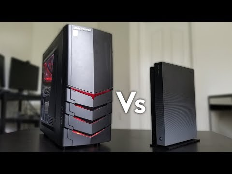 Xbox One X Vs Gaming PC - Review