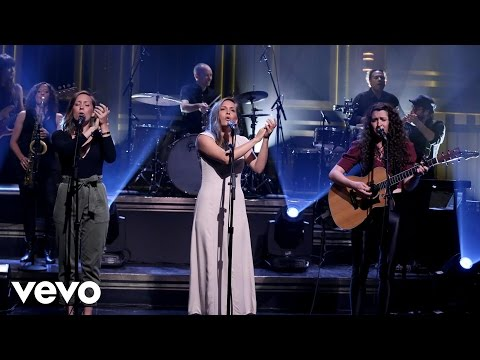 Joseph - White Flag  on The Tonight Show starring Jimmy Fallon