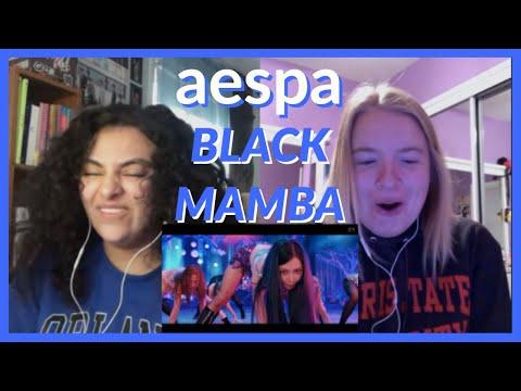 aespa 에스파 'Black Mamba' MV REACTION