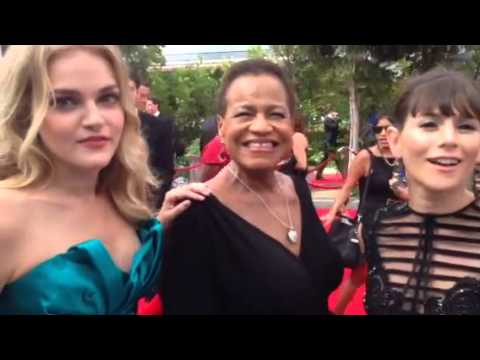 Madeline Brewer, Michelle Hurst, Yael Stone 'OITNB' on Emmys red carpet