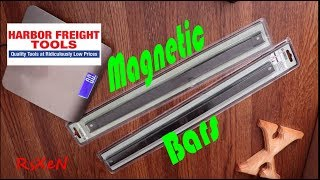A look at UŠ GENERAL Magnetic Bars from Harbor Freight