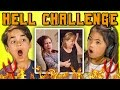 kids react to the hell challenge