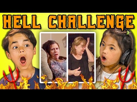 Thumbnail: KIDS REACT TO THE HELL CHALLENGE