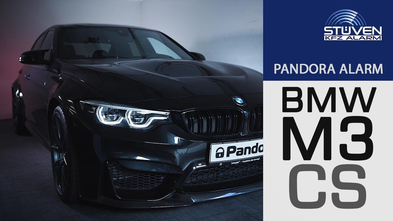 Pandora Elite Alarmanlage im BMW M3CS