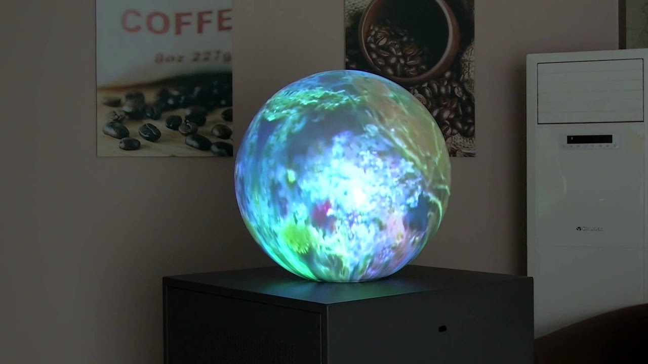 Spherical Projection System  YouTube