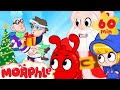 The Christmas Bandits are Good? - My Magic Pet Morphle | Cartoons for Kids